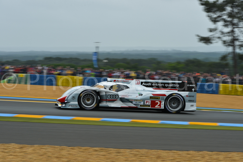 The Audi of Allan Mc Nish, 22/06/2013 Le Mans. FRANCE