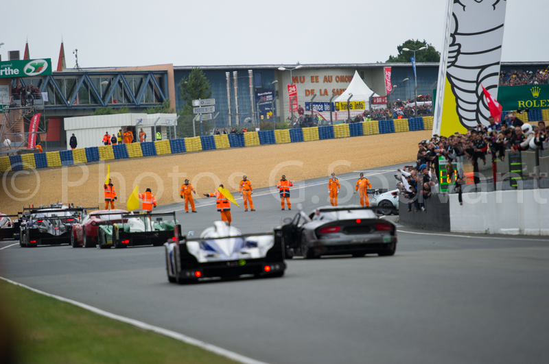 The arrival of the 90 th edition of the 24H, 23/06/2013 Le Mans. FRANCE