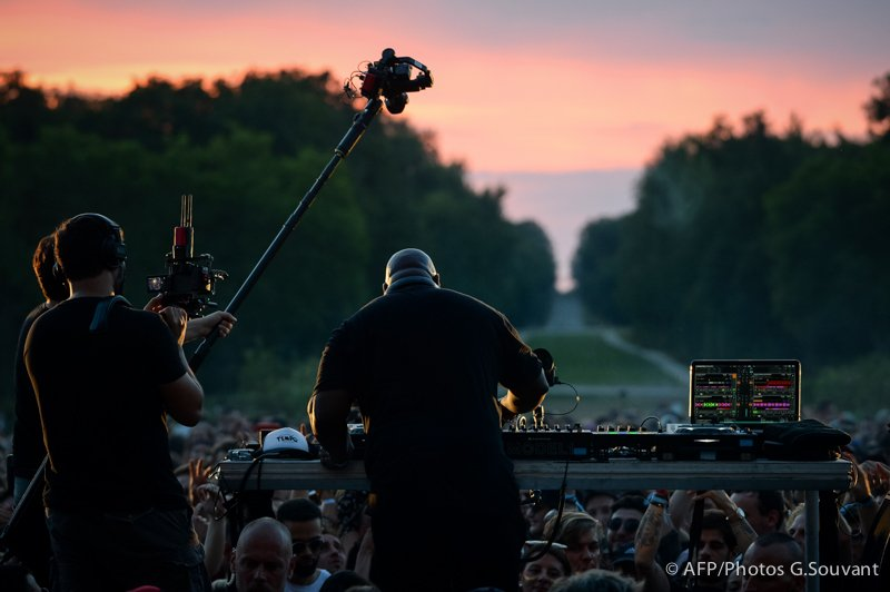 FRANCE - MUSIC - CARL - COX - CHAMBORD