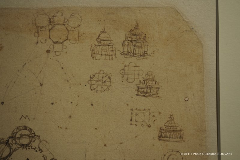 FRANCE - EXHIBITION - DA VINCI - CHAMBORD