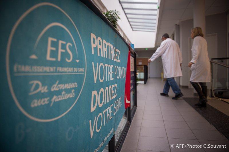 FRANCE - EFS - HEALTH