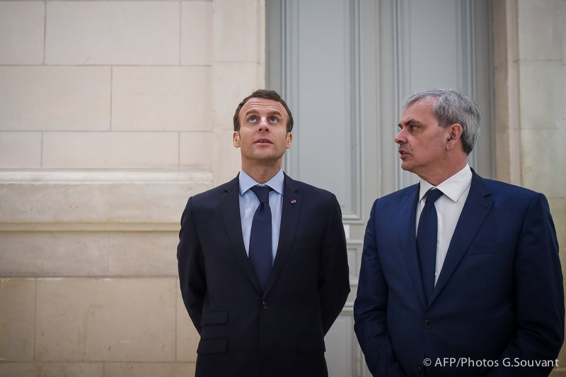 FRANCE - TOURS - EDUCATION - MACRON
