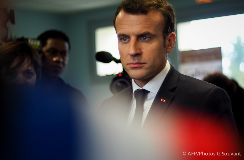 FRANCE - POLITICS - EDUCATION - MACRON