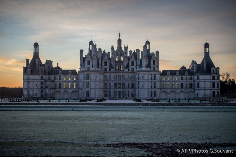 FRANCE - FEATURE- CHAMBORD - PANNEAUTAGE