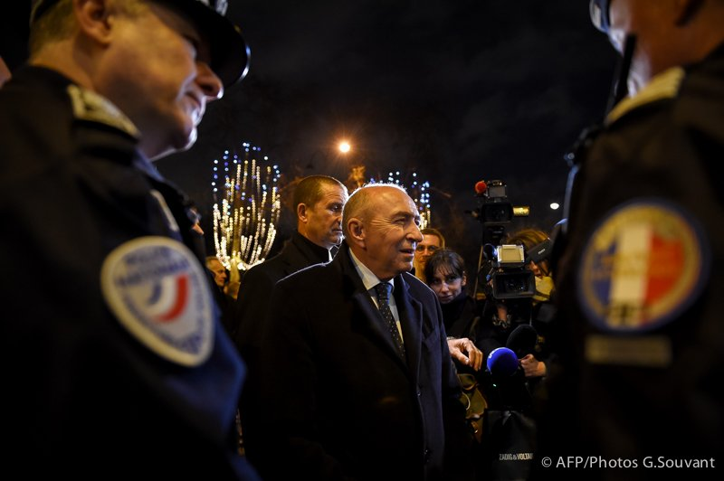 FRANCE-PARIS-POLICE-SECURITY-NEW - YEAR