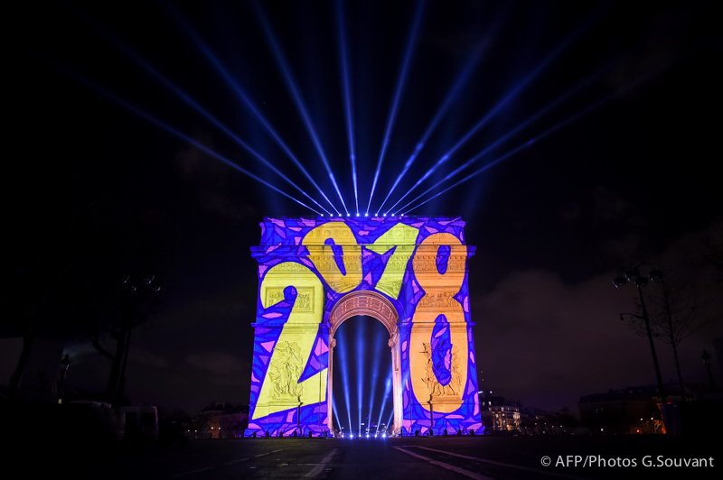 FRANCE - NEW - YEAR