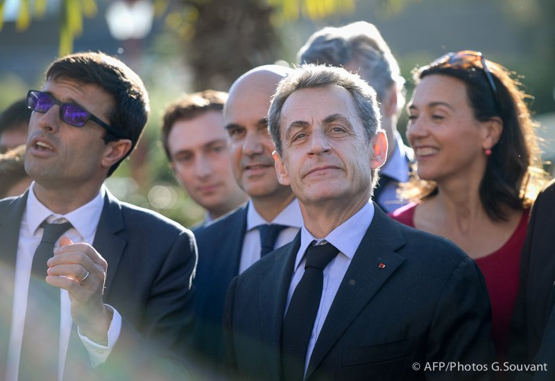 FRANCE - CHINA - PANDA - SARKOZY