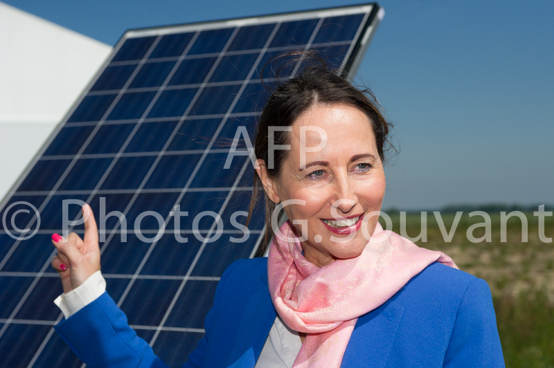 FRANCE-ECOLOGIE-ROYAL-SOLAR-PARK