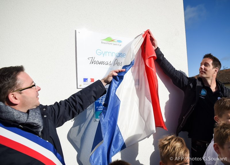 FRANCE - ASTRONAUT - PESQUET - FUTUROSCOPE