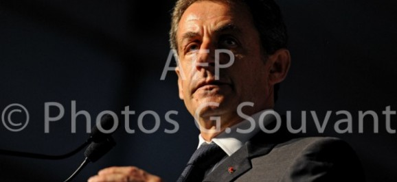 Nicolas Sarkozy à la Fête de la Violette