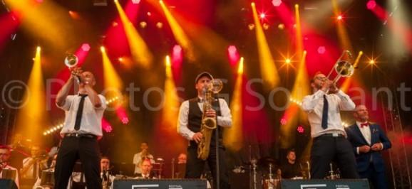 Electro Deluxe Big Band en concert
