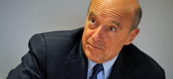 Alain Juppé en campagne