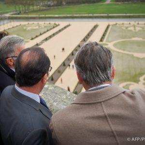 Hollande et les jardins de Chambord