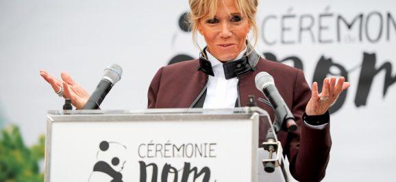 Brigitte Macron marraine du Panda